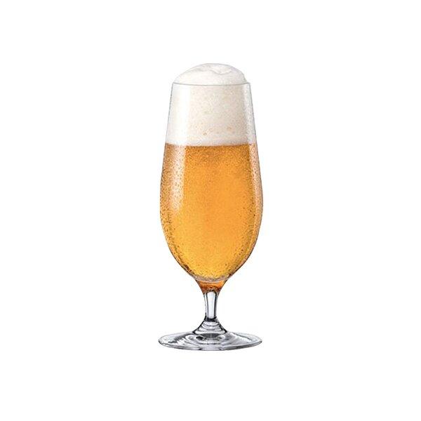 Stemmed Pilsner 16 oz. Glass Pint Glasses (Set of 6) by RONA