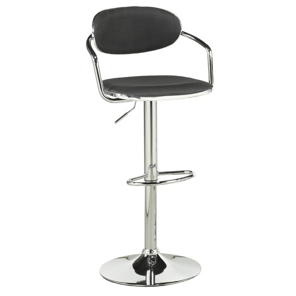 Beverly Adjustable Height Swivel Bar Stool (Set of 2) by Ivy Bronx