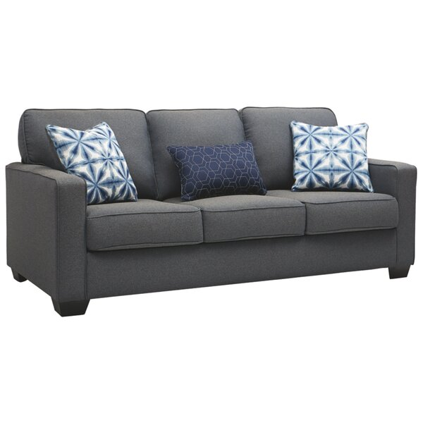 Saddlebrooke 85'' Square Arm Sofa By Ebern Designs