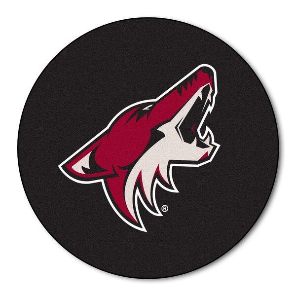 NHL - Arizona Coyotes Puck Doormat by FANMATS