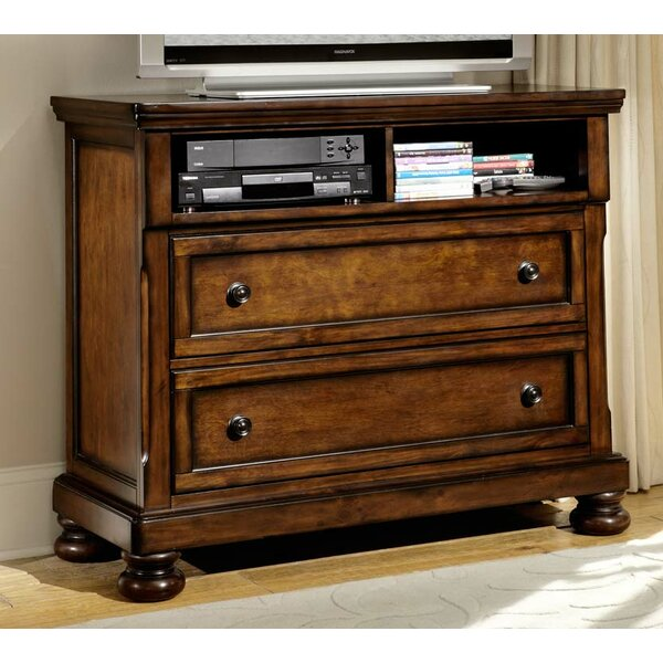 Hanley 2 Drawer Media Chest by Astoria Grand