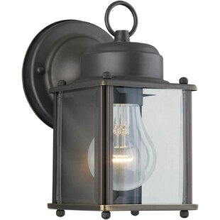 Bargain Sparland 1-Light Outdoor Wall Lantern By Charlton Home