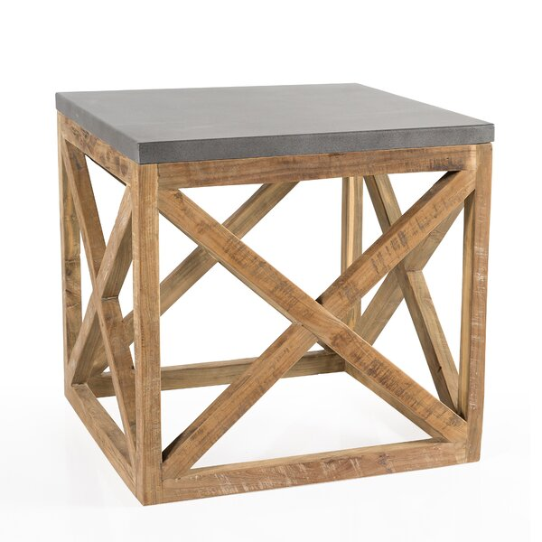 Francestown End Table by Rosecliff Heights