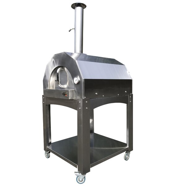 Platinum Series Stainless Steel/Wood Fired Pizza Oven by ilFornino