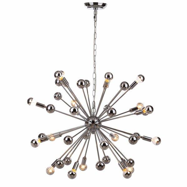 Rao 20 - Light Sputnik Sphere Chandelier by Brayden Studio Brayden Studio