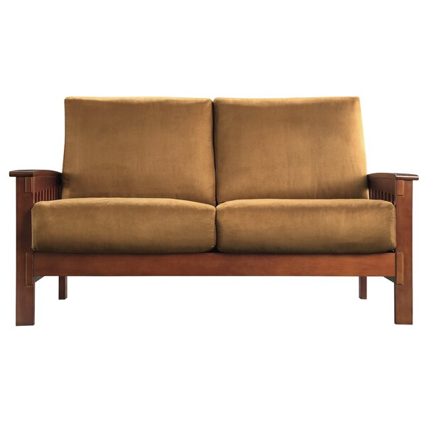 Wydmire Mission Loveseat by Charlton Home Charlton Home