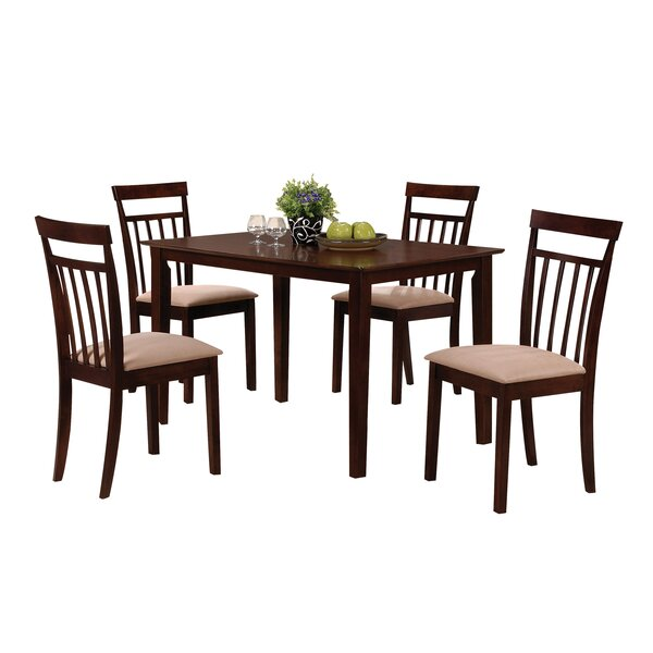 Beristain 5 Piece Dining Set by Red Barrel Studio Red Barrel Studio