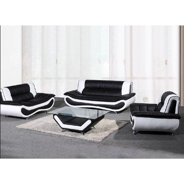 Jersie Chiang 3 Piece Living Room Set By Orren Ellis