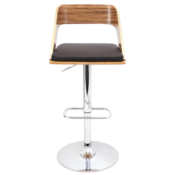 Biles Swivel Bar Stool by Brayden Studio