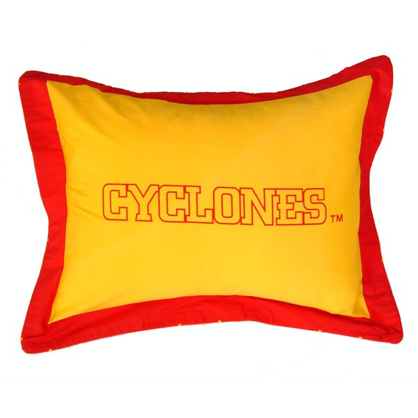 NCAA Iowa State Pillow Sham by College Covers