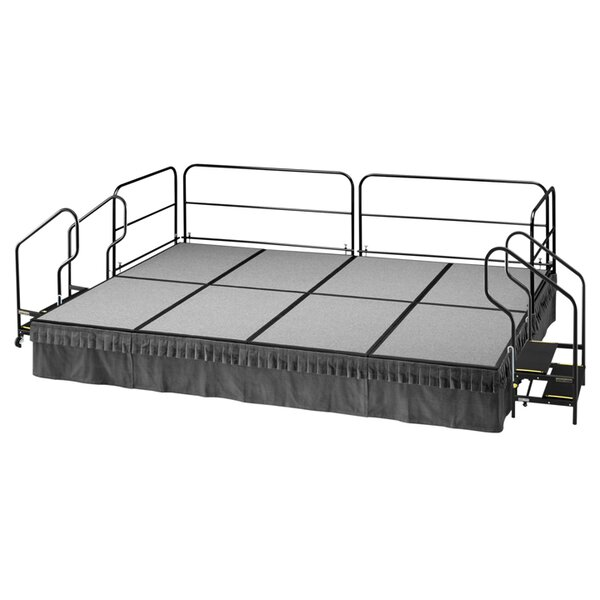 1800 Dual Height Stage by SICOAmerica