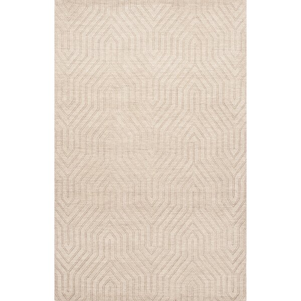 Barnes Wool Solids/Handloom Ivory Area Rug by Willa Arlo Interiors