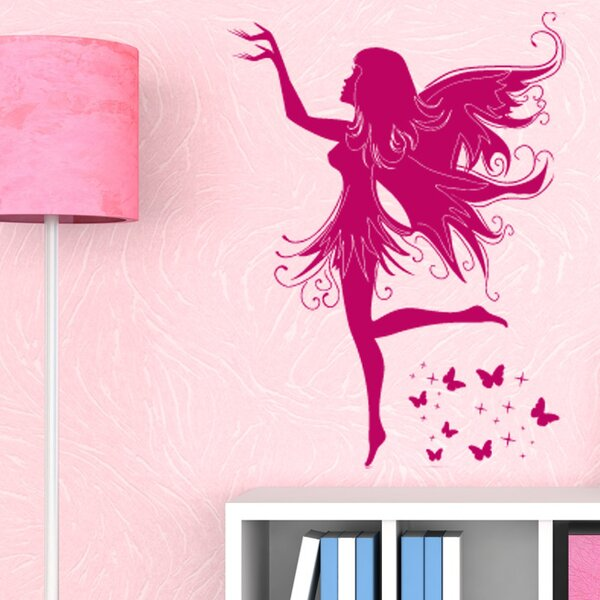 Magic Fairy Wall Decal by Style and Apply