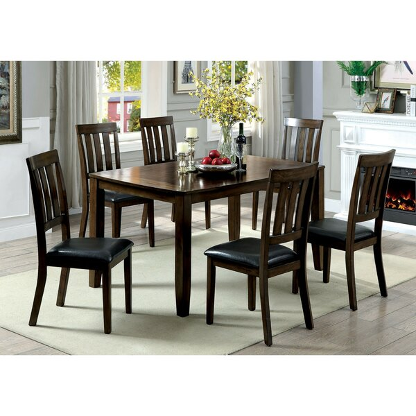 Best #1 Devon Wooden 7 Piece Counter Height Dining Table Set By Millwood Pines Cool
