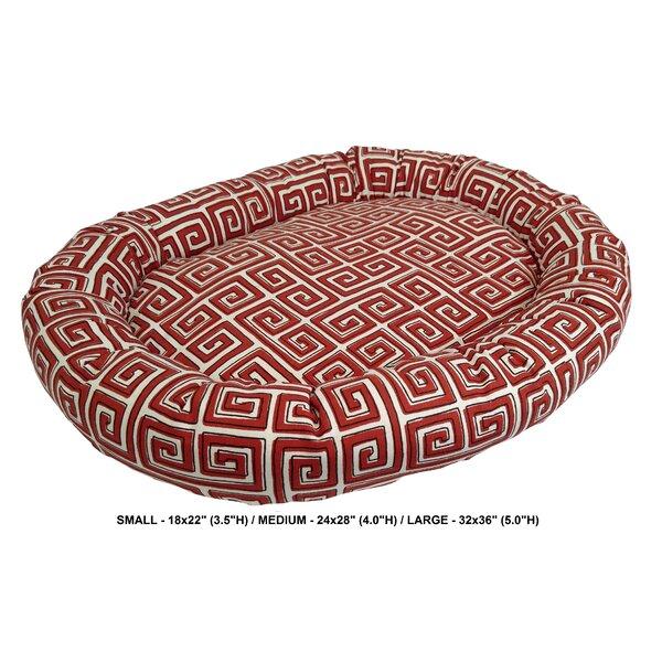 Daniella Neo Keys Indoor/Outdoor Bolster Pet Bed by Tucker Murphy Pet