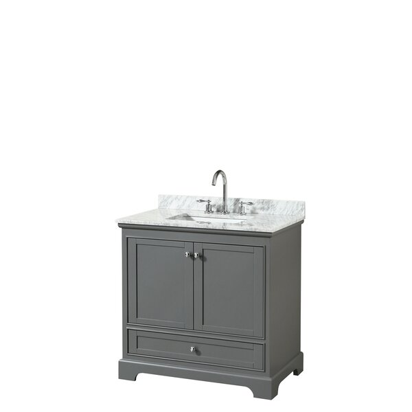 Deborah 36 Single Bathroom Vanity Set by Wyndham CollectionDeborah 36 Single Bathroom Vanity Set by Wyndham Collection