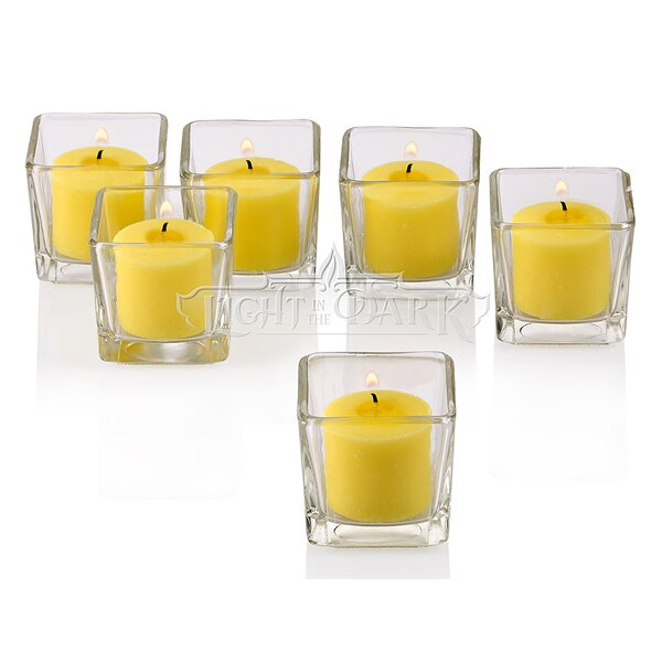 Glass Votive Set (Set of 72) by Light In the Dark