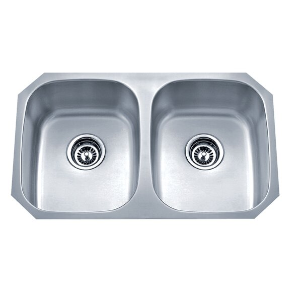 Speciality Series 29.13 L x 18.13 W Equal Double Kitchen Sink by Wells Sinkware