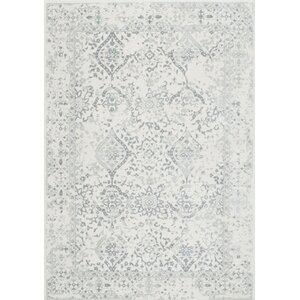 Dorothea Ivory/Gray Area Rug
