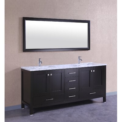 Brayden Studio Transitional Double Bathroom Vanity Set Color Vanities
