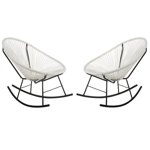 Sunnyside Woven Patio Chair by Bungalow Rose