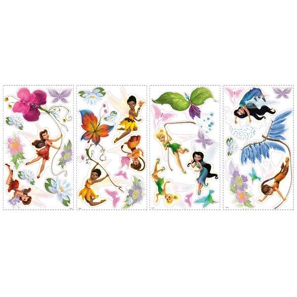 Disney Fairies Cutout Wall Decal by Wallhogs