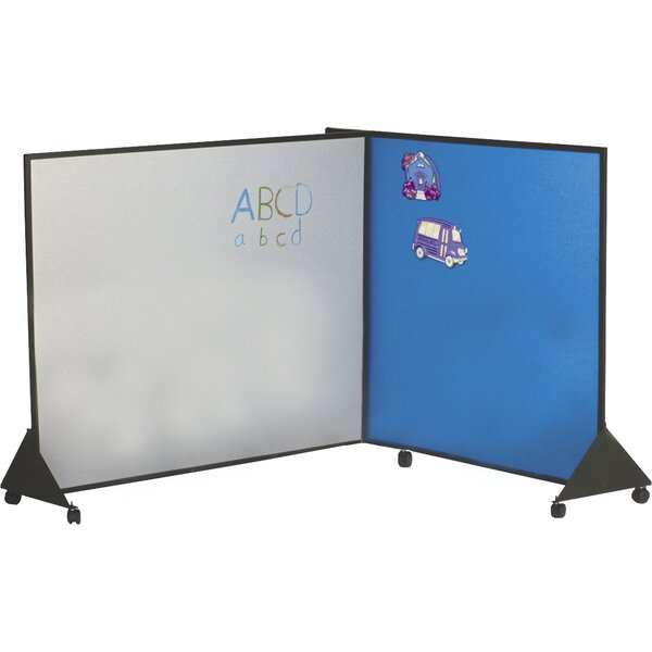 Pre-school Free-Standing Whiteboard by Best-Rite®