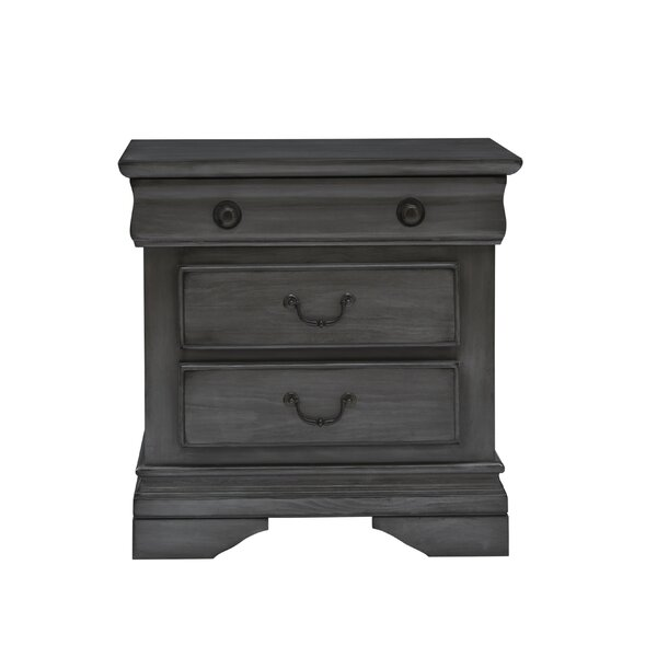 Mcfarren 3 Drawer Nightstand by Canora Grey