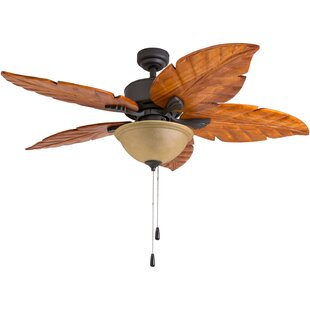 Read Reviews 52 Kalista Indoor 5 Blade Ceiling Fan with Remote By Bayou Breeze