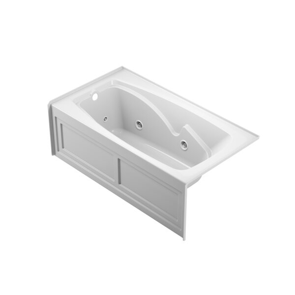 Cetra Left-Hand Heater 60 x 32 Skirted Whirlpool Bathtub by Jacuzzi®