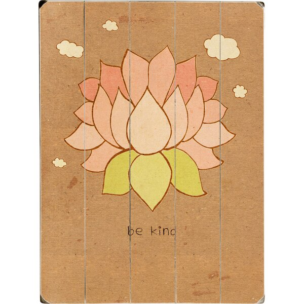 Be Kind Drawing Print Multi-Piece Image on Wood by Artehouse LLC