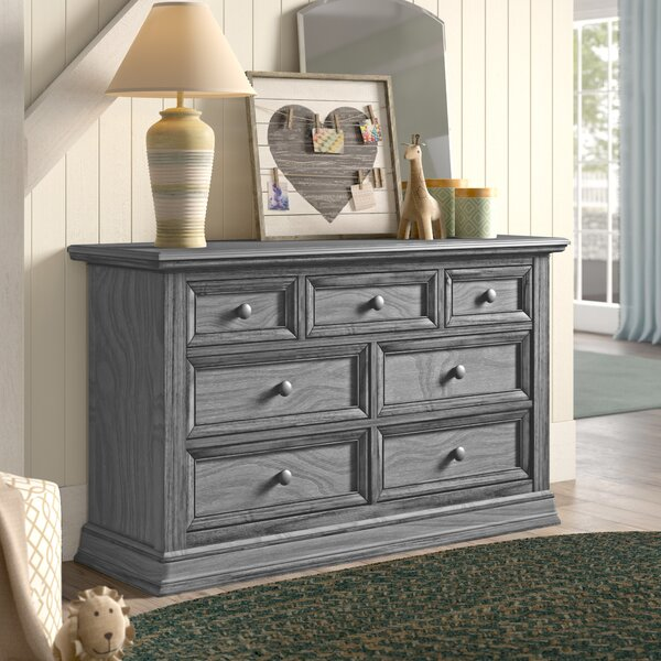 Barrientes 7 Drawer Double Dresser By Birch Lane™ Heritage by Birch Lane™ Heritage Wonderful
