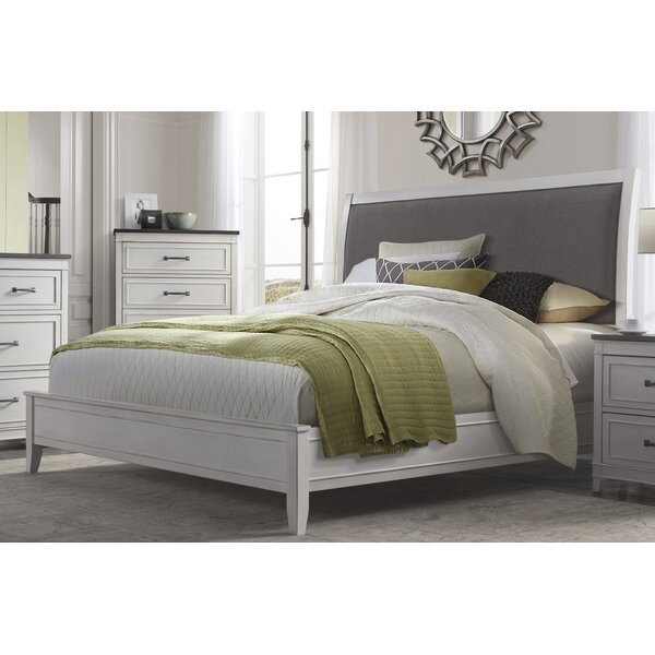 Del Mar Upholstered Sleigh Bed by Alcott Hill
