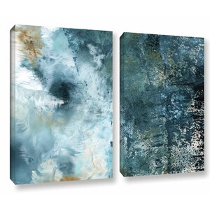 Summer Storm 2 Piece Graphic Art on Wrapped Canvas Set by Latitude Run