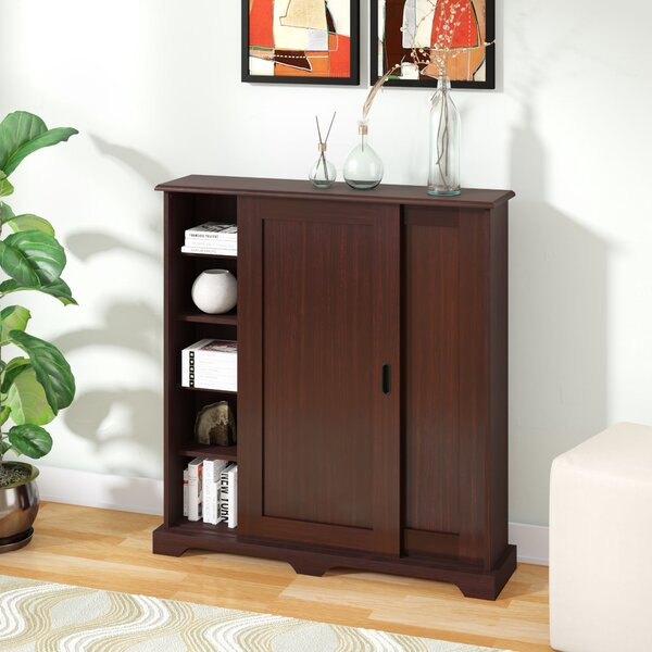 Sliding Door Multimedia Cabinet by Zipcode Design
