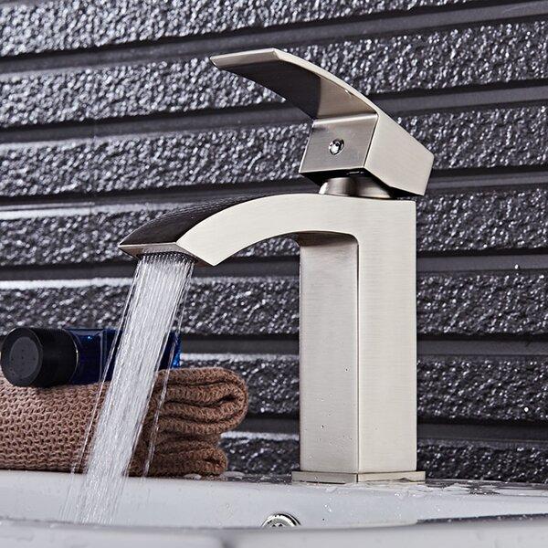 Pure One Handle Single Hole Bathroom Faucet by Eviva