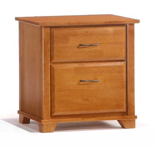 Isabell 2 Drawer Nightstand by Alcott Hill