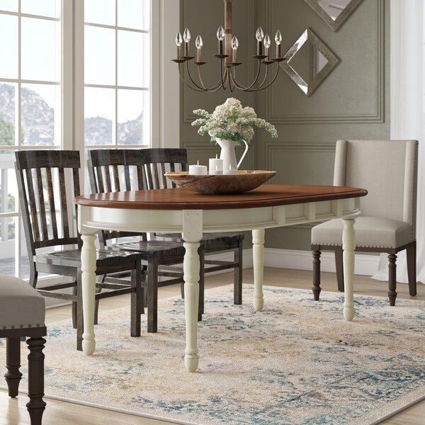 Shelburne Extendable Solid Wood Dining Table by Laurel Foundry Modern Farmhouse Laurel Foundry Modern Farmhouse