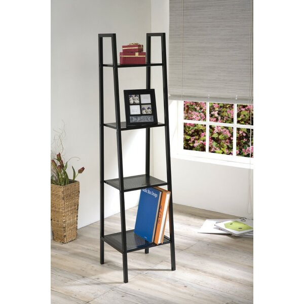 Oyer 4 Tier Ladder Bookcase by Winston Porter