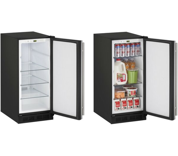 1000 Series Reversible Stainless Steel 15-inch 2.9 cu. ft. Undercounter Refrigeration by U-Line