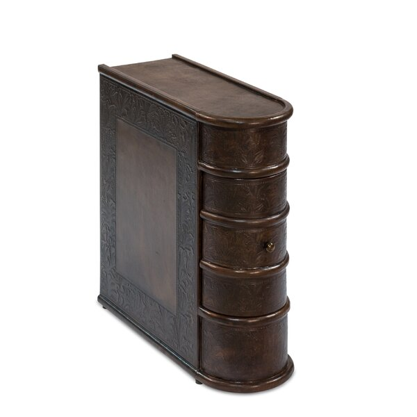 Morefield Book Tray Table By Astoria Grand