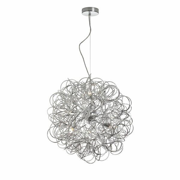 Gardner 6-Light Unique / Statement Globe Chandelier By Willa Arlo Interiors