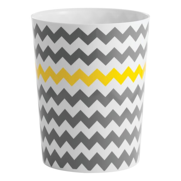 Chevron Waste Basket by InterDesign