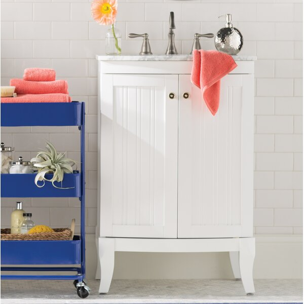 Harris 24 Single Bathroom Vanity Set by Beachcrest