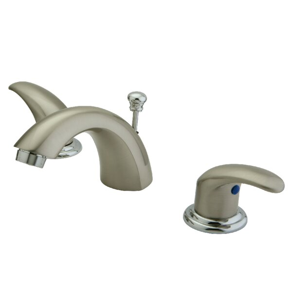 Legacy Widespread Faucet Bathroom Faucet With Drain Assembly By Kingston Brass