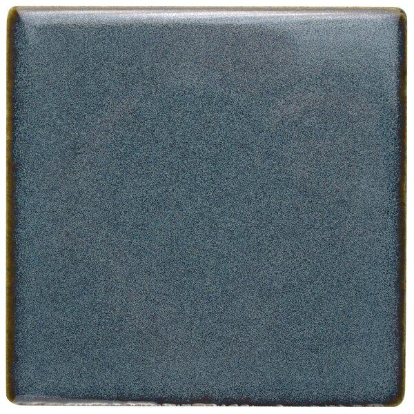 Essentia 4 x 4 Porcelain Field Tile in Sea Blue by EliteTile