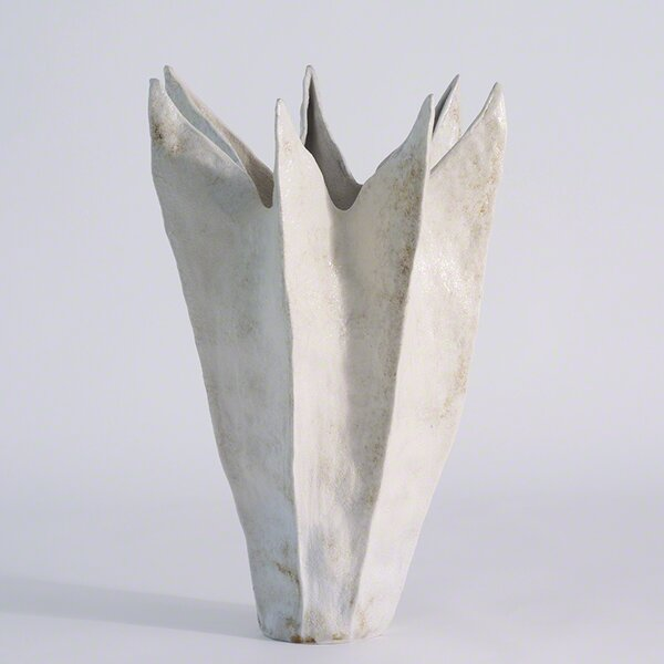 Ivory Porcelain Table Vase by Corrigan Studio