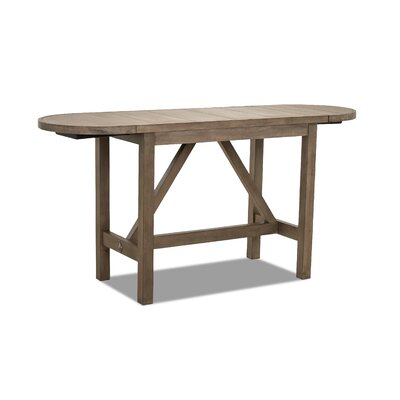 Counter Drop Leaf Dining Table Gray image