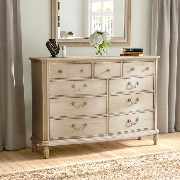 Brierley 9 Drawer Dressing Chest by Lark Manor