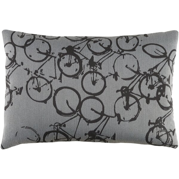 Davey Pedal Power Lumbar Pillow Cover by Latitude Run